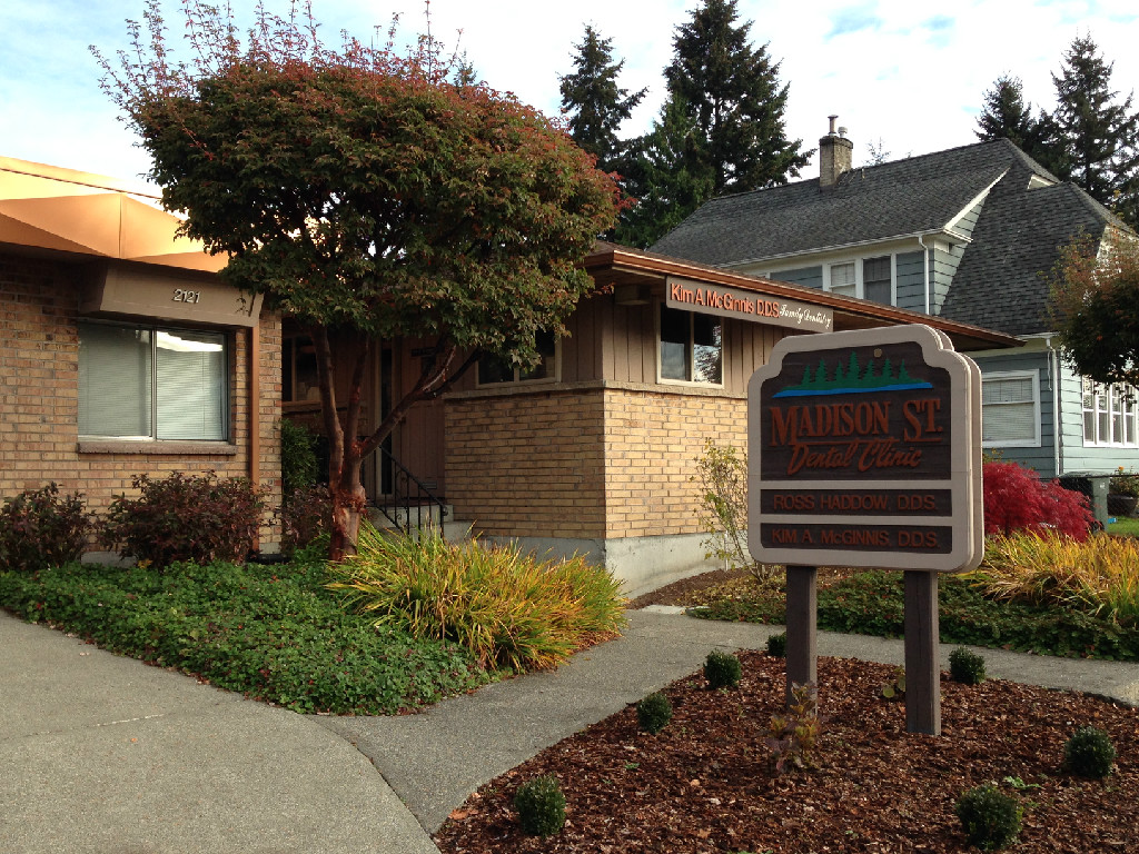 Our dental office located in the Pinehurst neighborhood of Everett, Washington.